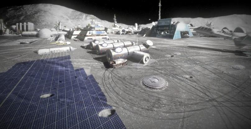 020916 1838 5 Проект пилотного лунного энергоизлунающего комплекса