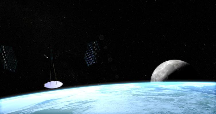 021916 2051 3 Концепция космической системы энергоснабжения в микроволновом или оптическом диапазоне частот