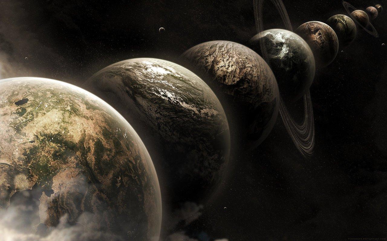 l1 Параллельные пространства и миры: все грани Мультиверсума