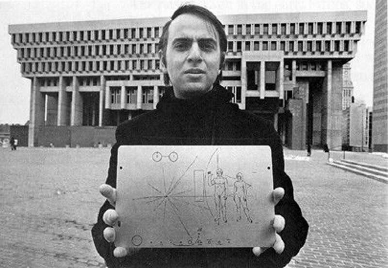 h17 Карл Саган: первый посол Земли