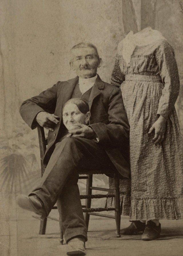 f10 Викторианский фотошоп: странные фотографии XIX века