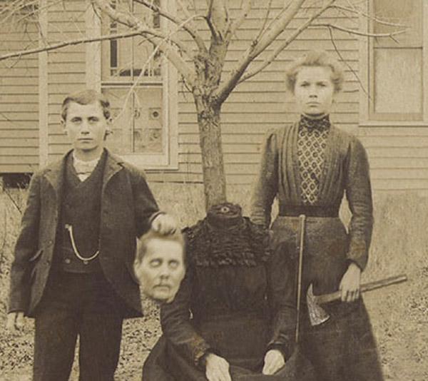 f11 Викторианский фотошоп: странные фотографии XIX века