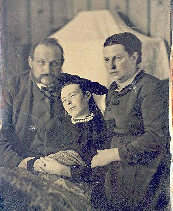f6 Викторианский фотошоп: странные фотографии XIX века