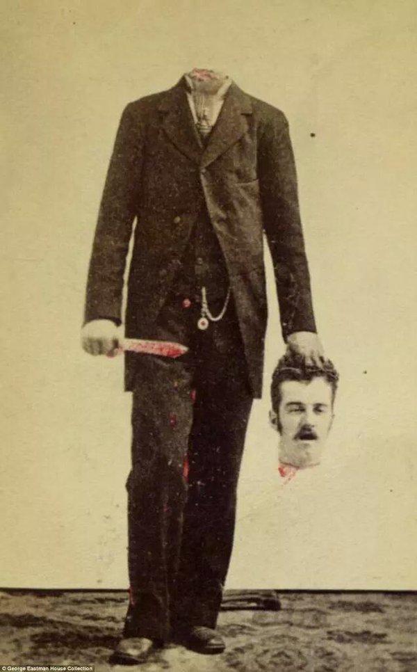 f9 Викторианский фотошоп: странные фотографии XIX века