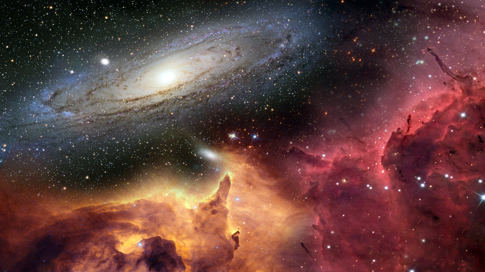 h0 Фабрики Вселенной: жизнь и смерть звёзд