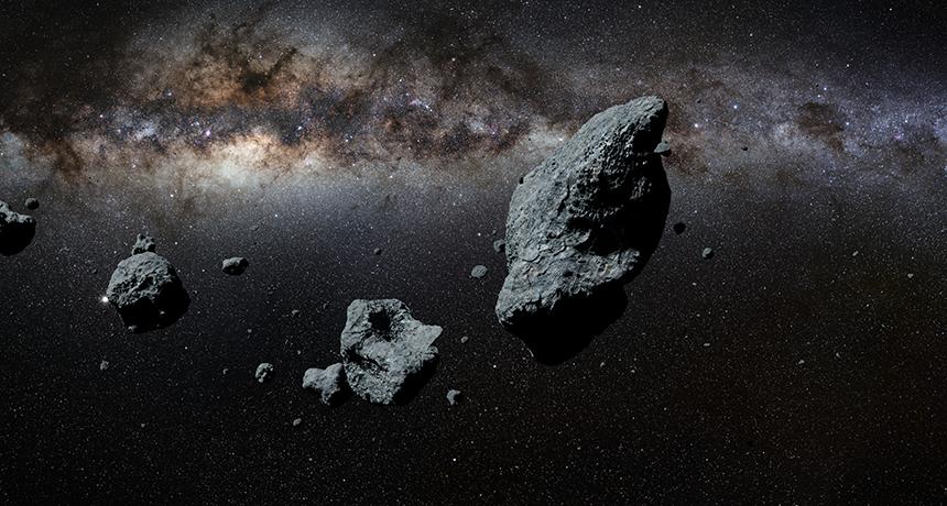 q1 Охота на астероиды