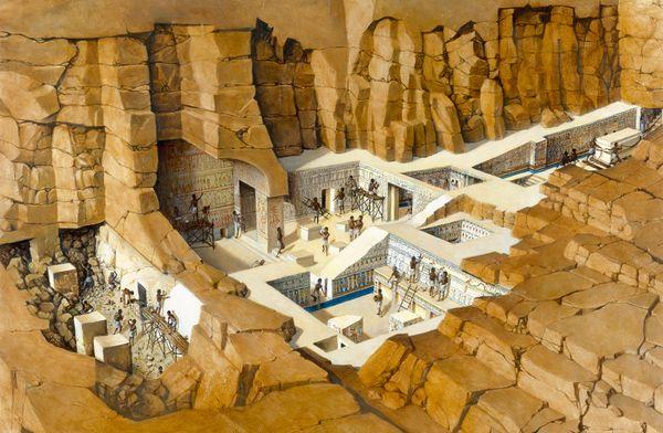 q14 10 ошеломляющих древних подземных сооружений