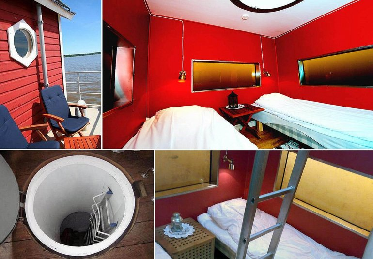 4 The Utter Inn – крохотная гостиница в Швеции